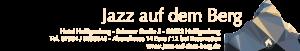 JazzAufDemBerg - Textbanner - ZUM REINKOPIEREN mit Transparent