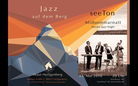 31. Mai 2016: Jazz auf dem Berg (1)