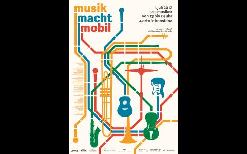 Sa 1. Juli 2017, Konstanz: Musik macht Mobil Festival