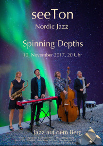 seeTon - Spinning Depths - Plakat - klein